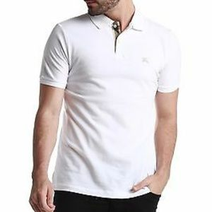 Men's Burberry Brit White Polo